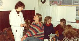 Sigurbjörg Aðalsteinsdóttir, Þórkatla Aðalsteinsdóttir, Ása og Helga Haraldsdóttir