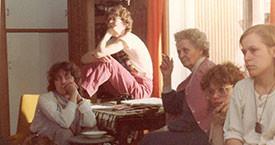 Sigurbjörg Aðalsteinsdóttir, Magdalena Schram, Laufey Jakobsdóttir, Lára V. Júlíusdóttir og Ingibjörg Sólrún Gísladóttir