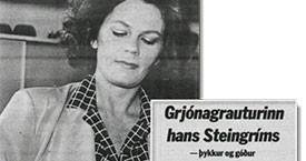 Edda býr til grjónagraut fyrir forsætisráðherra.