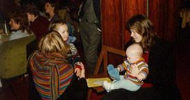 1983 Hótel Borg. Ég ætlaði út að frelsa heiminn en fékk ekki barnapíu