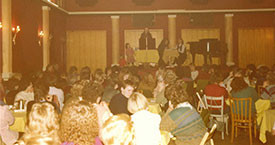 1983 Borgarafundur um stofnun Kvennalista á Hótel Borg.