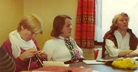 1982 Guðný Gerður Gunnarsdóttir, Ingibjörg Ýr Pálmadóttir og Elín G. Ólafsdóttir