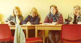1982 Hallgerður Gísladóttir, óþekkt, Sigrún Hjartardóttir og Guðrún Jónsdóttir