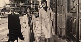 Sigríður Dúna Kristmundsdóttir, Guðrún Agnarsdóttir og Kristín Halldórsdóttir, fyrstu þingkonur Kvennalista 1983-1987