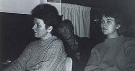 1987. Danfríður Skarphéðinsdóttir og Kristín A. Árnadóttir