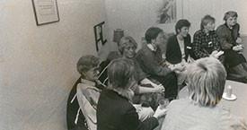 1985 Fanney Reykdal, Ína Gissurardóttir, óþekkt, Edda Magnúsdóttir, Sigurbjörg