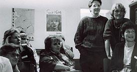 Fanney Reykdal, Guðrún Guðmundsdóttir, ónefnd, Ína Gissurardóttir og Edda Magnúsdóttir