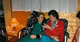 Kristín Jónsdóttir og Kristín Halldórsdóttir