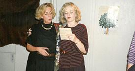 María Jóhanna Lárusdóttir og Sigríður Lillý Baldursdóttir