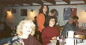 Sigríður Lillý Baldursdóttir, Hulda Ólafsdóttir, Anna Ólafsdóttir Björnsson, Margrét Sæmundsdóttir, Laufey Jakobsdóttir og Hólmfríður