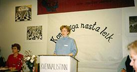 Stefanía og Sigrún Jónsdóttir