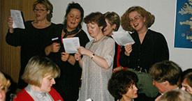 Ína Gissurardóttir, Kristín Blöndal, Kristín Ástgeirsdóttir og Þórunn Sveinbjarnardóttir