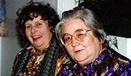 Helga Jóhannsdóttir (d. júní 2006) og Guðrún Halldórsdóttir (d. maí 2012)