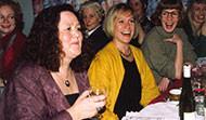 Jóhanna Eyjólfsdóttir (d. 2009), Kristín Blöndal, Þorgerður, Ingibjörg Sólrún Gísladóttir, Auður Styrkársdóttir og Hólmfríður Garðarsdóttir