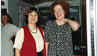 María Jóhanna Lárusdóttir, Kristín Einarsdóttir og Kristín Jónsdóttir