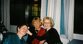 Kristín Halldórsdóttir, María Jóhanna Lárusdóttir og Sigríður Lillý Baldursdóttir