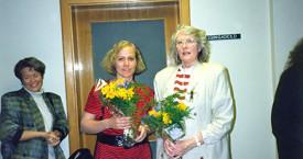 Elín G. Ólafsdóttir tekur við af Ingibjörgu Sólrúnu í borgarstjórn 1988
