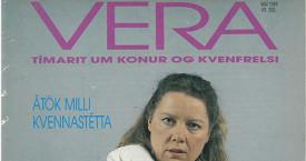 Vera 2. tölublað, 8. árgangur 1989