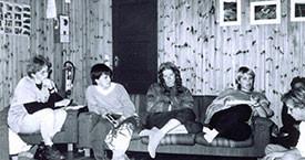 Bryndís Guðmundsdóttir, Kristín Einarsdóttir, Kristín Jónsdóttir, Inga Dóra Björnsdóttir og María Jóhanna Lárusdóttir