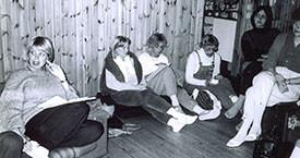 Inga Dóra Björnsdóttir, Guðný Gerður, María Jóhanna Lárusdóttir, Guðrún Jónsdóttir