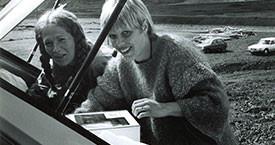 Kristín Jónsdóttir og Inga Dóra Björnsdóttir