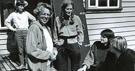 Sigríður Einarsdóttir, María Jóhanna Lárusdóttir, Kristín Jónsdóttir