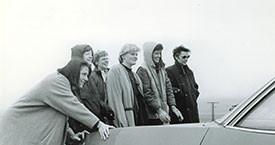Steinunn Björg Helgadóttir, Kristín Ástgeirsdóttir, óþekkt, Ása, Kristín Halldórsdóttir, Margrét Rún