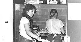 Tekið til hendinni á Víkinni 1982