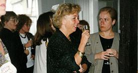 Þóra Kristín, Kristín Jónsdóttir, María Jóhanna Lárusdóttir og Ingibjörg Sólrún Gísladóttir