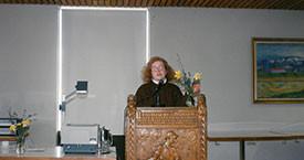 Kristín Karlsdóttir á Hvanneyri