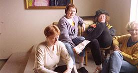 Kristín Ástgeirsdóttir, Danfríður Skarphéðinsdóttir, Kristín Jónsdóttir og Sigríður Lillý Baldursdóttir
