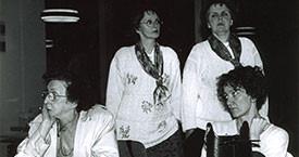 Málmfríður Sigurðardóttir, Bryndís Guðmundsdóttir, Ingibjörg Guðmundsdóttir og Brynhildur Flóvenz