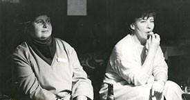 Helga Jóhannsdóttir og Gunnhildur Bragadóttir