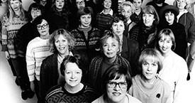 Framboðslistinn í Reykjavík 1987