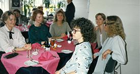 Brynhildur Flovenz, Lilja Eyþórsdóttir, Ína Gissurardóttir, Bergljót , Kicki Borhammer og óþekkt