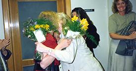 Ingibjörg Sólrún Gísladóttir, Elín G. Ólafsdóttir og Ína Gissurardóttir
