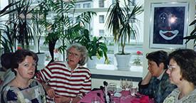 Kristín Ástgeirsdóttir, Elín G. Ólafsdóttir, Sigrún Ágústsdóttir og óþekkt