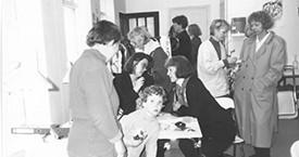 Ólafur Stefánsson, Kristín A Árnadóttir og Sigrún Sigurðardóttir