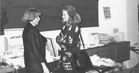 María Jóhanna Lárusdóttir og Kristín Jónsdóttir
