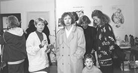 Guðrún Ögmundsdóttir, Margrét Sæmundsdóttir, Ólafur Stefánsson, María Jóhanna Lárusdóttir og Kristín Jónsdóttir