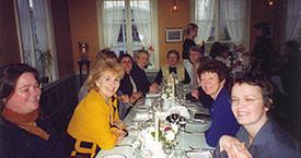 Frá vinstri Anna Ólafsdóttir Björnsson, Sigríður Þorvaldsdóttir, Kristín Einarsdóttir,Sigríður Lillý Baldursdóttir, Sigrún Sigurðardóttir, Guðrún Agnarsdóttir og Hulda Ólafsdóttir