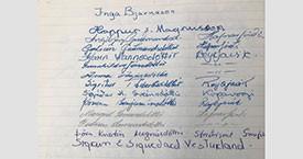 Gestabókin að Búðum