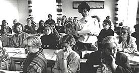 Frá landsfundinum 1992