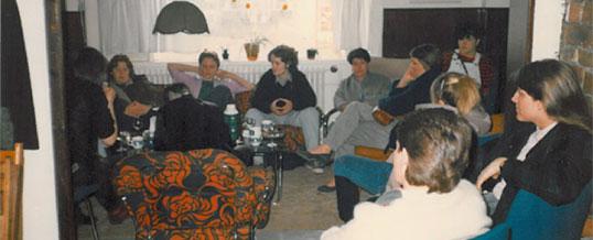 Stofnfundur Íslensk-lesbíska haldinn á Hótel Vík 1985