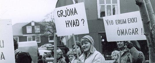 Mótmæli 8. mars 1984